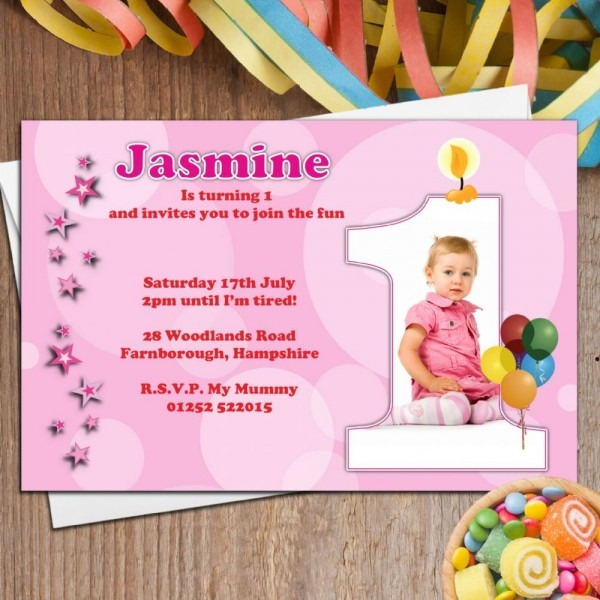 Personalized Hello Kitty Birthday Invitation Custom Photo Ideal