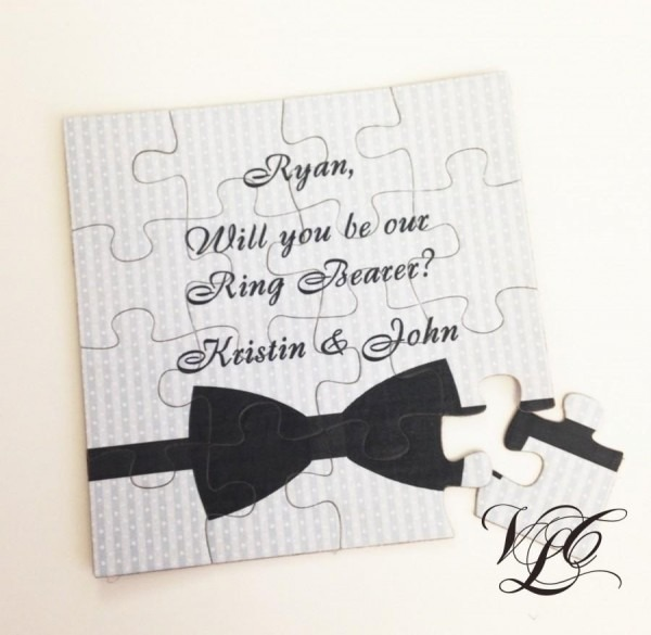 Personalized Ring Bearer Proposal, Ask Ring Bearer, Will You Be