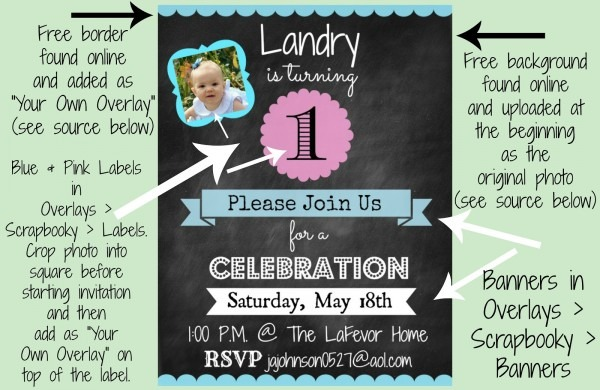 How To Create An Invitation