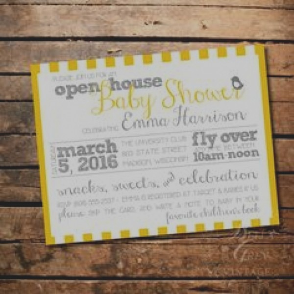 Unique Open House Baby Shower Invitation Wording Open House Baby