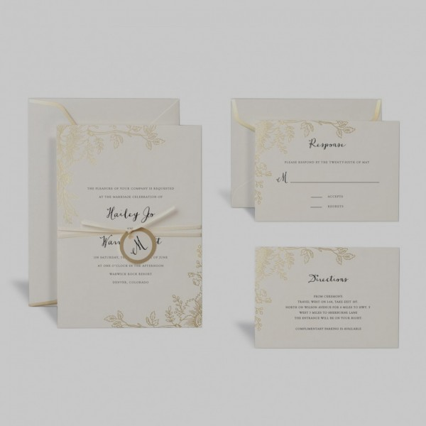 Unique Wedding Invitation Kits Michaels Shop For The Rose Gold