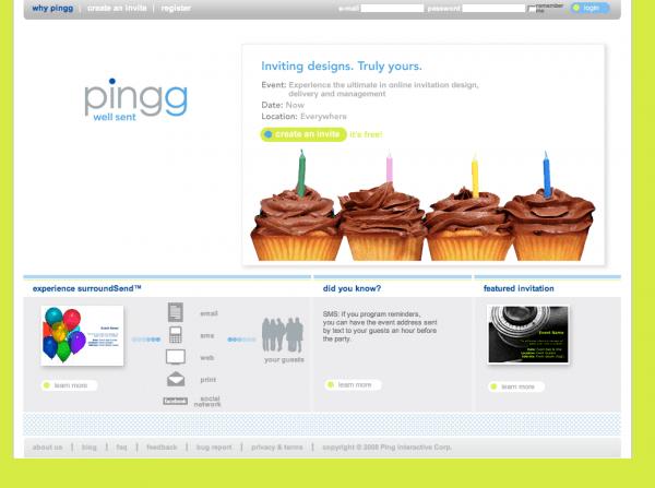 Pingg—invitations Done Right