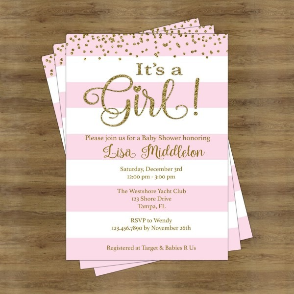 Baby Shower Invitation Ideas For Girl Baby Shower Invitation Ideas