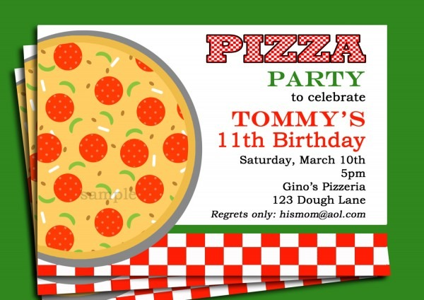 Pizza Party Invitation Pizza Party Invitation As Awesome Party