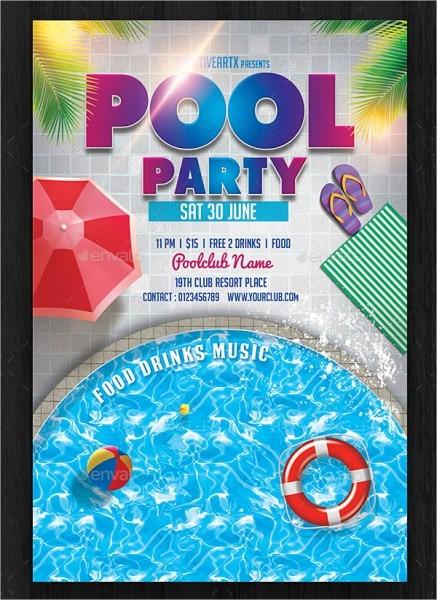 Babbaffabfedbfbec Pool Party Invitations Printable Invitations New