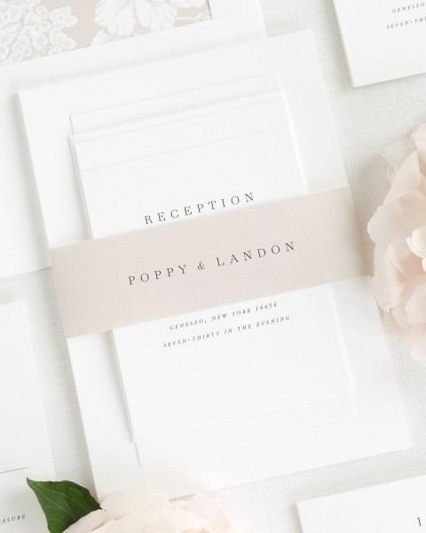 Poppy Wedding Invitations