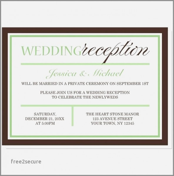 Post Wedding Bridal Shower Invitation Wording Elegant Wedding