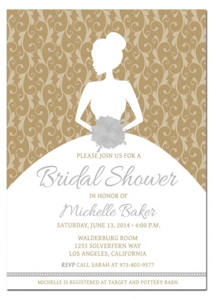 Imágenes De Making Bridal Shower Invitations Free