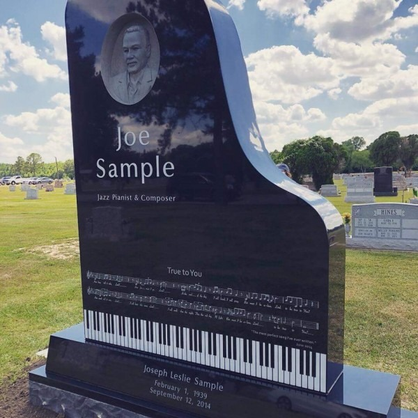 Jazz Legend Joe Sample Honored With An Epic Headstone