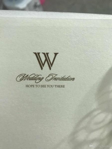 2018 Wholesale Laser Cut Wedding Ibest Selling Wedding Invitations