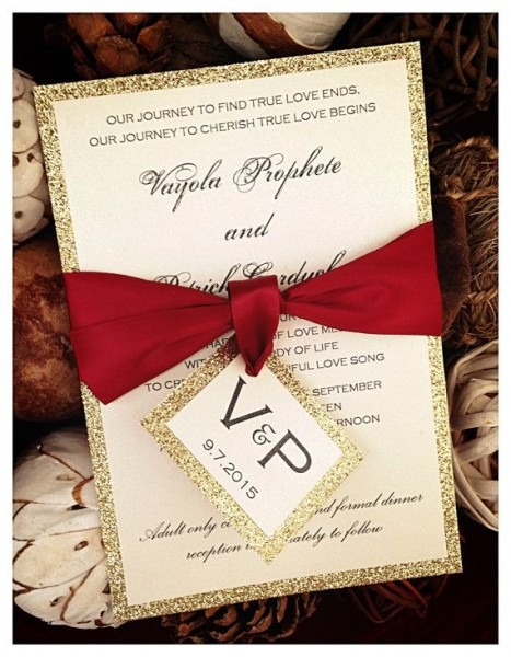 Red And Gold Wedding Invitations Red And Gold Wedding Invitations