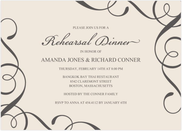 What To Keep In Mind When You Create Your Rehearsal Dinner