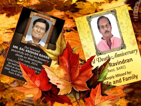 Get Help With Newspaper Death Anniversary Invitation Samples