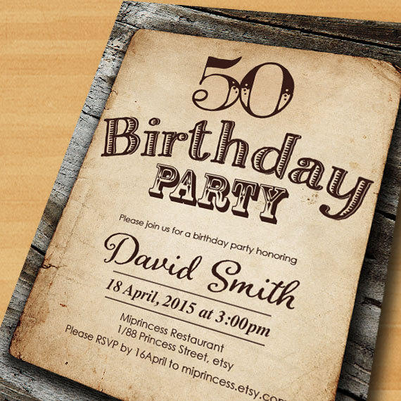 Retro Birthday Invitation Cute With Retro Birthday Invitation