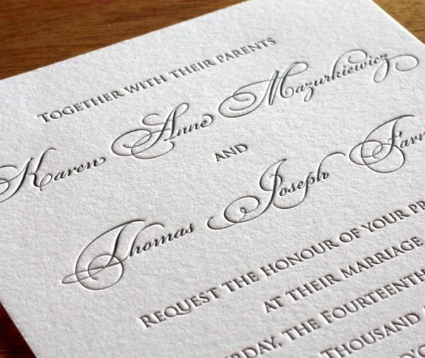 Wedding Ideas  Wedding Invitation Fonts