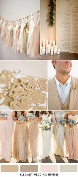 How To Choose Brown As Your Wedding Colors By Season