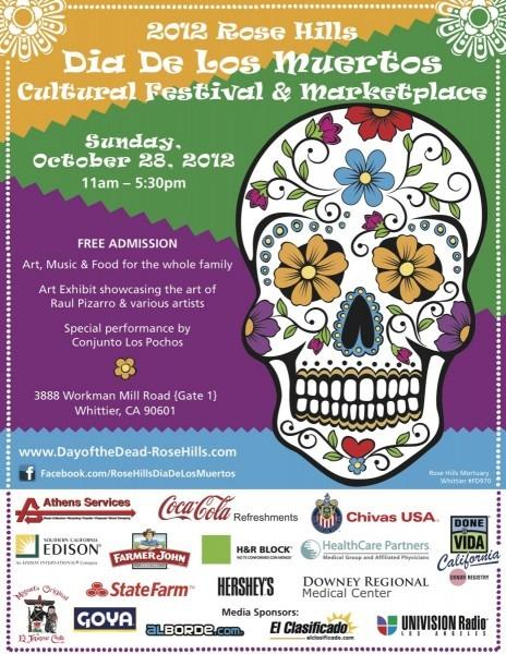 Ultimate 2012 Día De Los Muertos Event Guide ~ Los Angeles ~ L A  Taco
