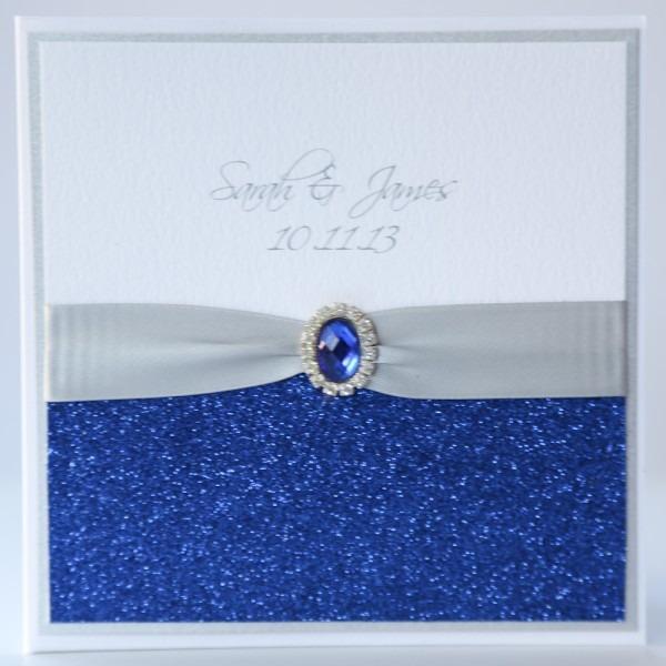 Royal Blue And Silver Wedding Invitations Royal Blue And Silver