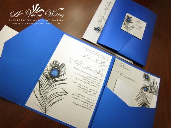 Royal Blue Wedding Invitations Royal Blue Wedding Invitations Also