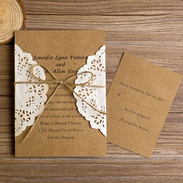Rustic Wedding Invitation Templates Gangcraft Diy Wedding
