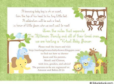 Baby Shoer Invitations