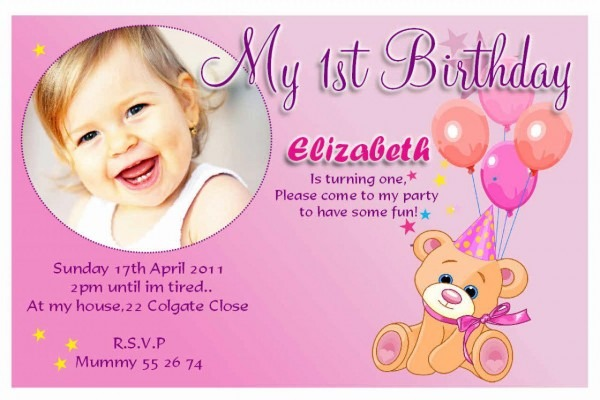 Sample Birthday Invitation Card Onwe Bioinnovate Wording Year