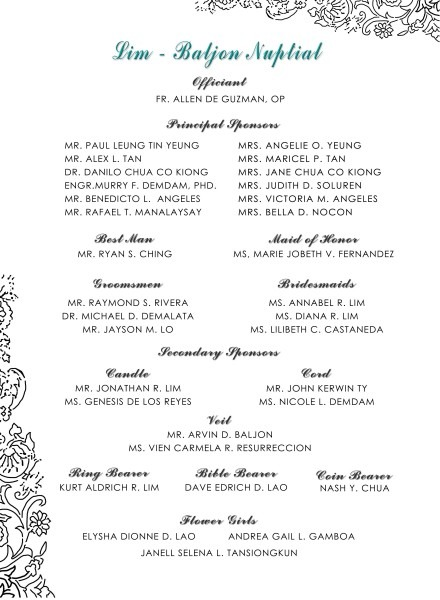 Sample Wedding Invitation In The Philippines Best