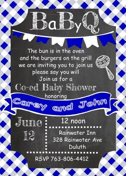 Babyq Baby Shower Invitations   Fall 2018