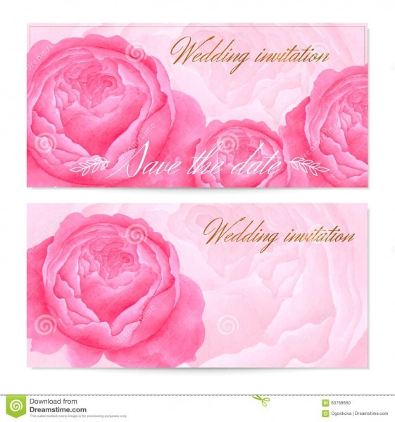 Save The Date Wedding Invitation   Floral Greeting Card (gift