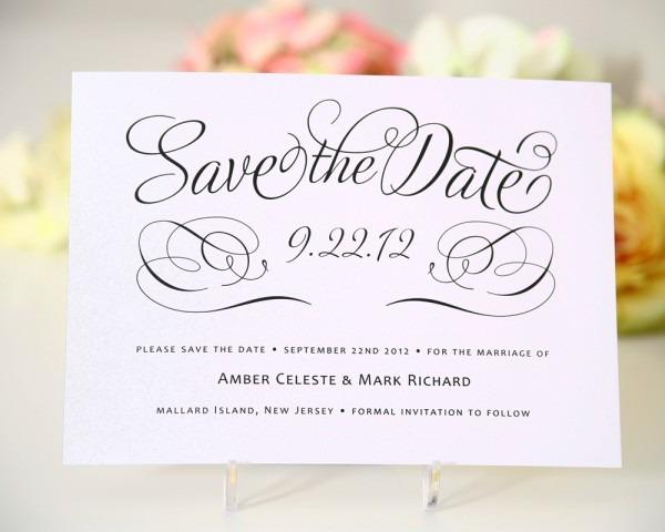 Wedding Ideas  Save The Date Wedding Invitations