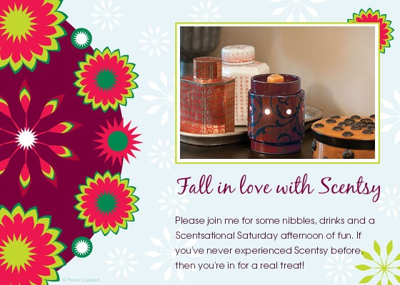 Scentsy Part Fancy Scentsy Party Invitation Templates
