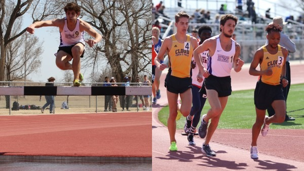 Men's Track And Field Opens Outdoor Season At Southwestern