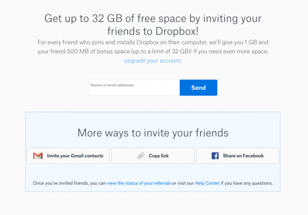 Dropbox Grew 3900  With A Simple Referral Program  Here's How