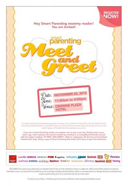 Smart Parenting Magazine Meet & Greet 2012