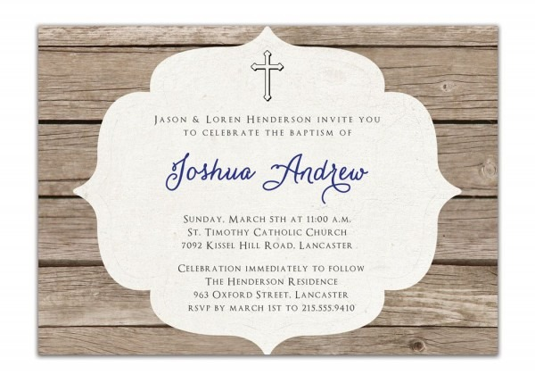Spanish Baptism Invitations Wording