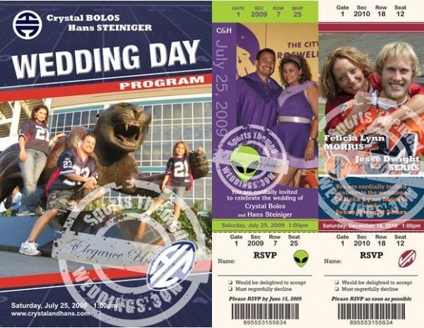 Sports On Wedding Day