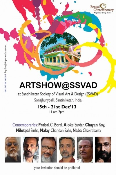 Our Running Art Show By Bengal Contemporary At Ssvad Ssavd