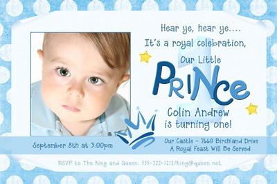 Invitation Template  Baby Boy First Birthday Invitation Quotes