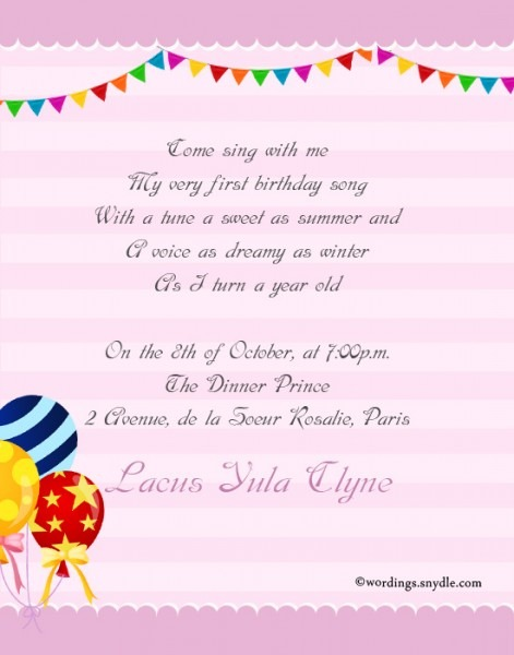 Birthday Invitation Wording Unique Birthday Invitation Messages