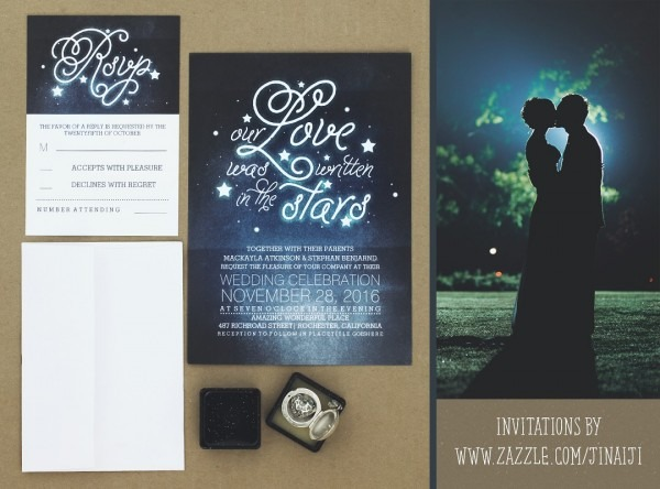 Our Love Was Written In The Stars Wedding Invites – Need Wedding