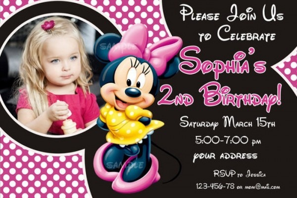 Superb Sample Birthday Invitation