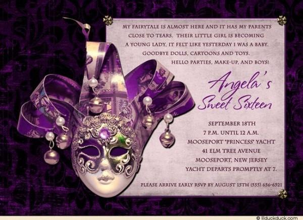 Masquerade Invitations Template Free Party Invitation Templates