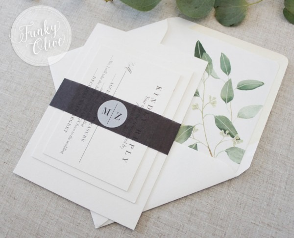 Invitation Finishing Touches 101  Belly Bands — Wedding