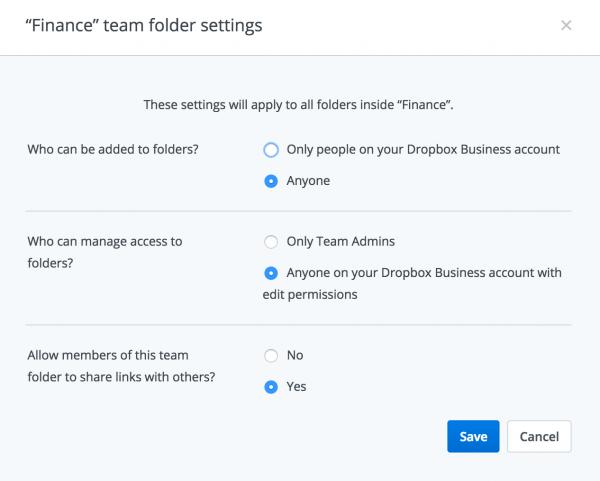 Set Folder Permissions