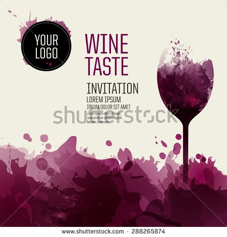 Template Design Suitable Wine Li Cute Wine Party Invitation
