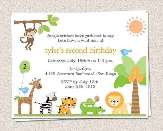 Il X Cmin Beautiful Zoo Birthday Invitations
