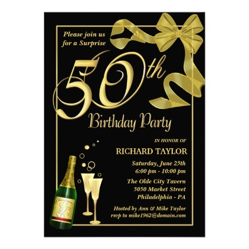 Th Invitation Templates Free Free Surprise Th Birthday Party