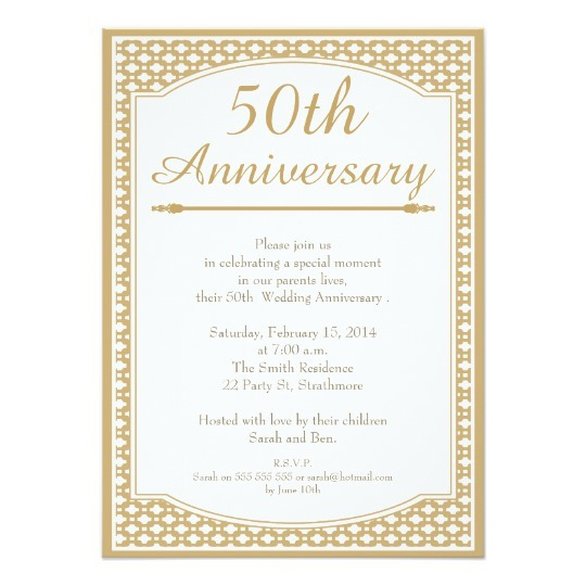 Cheap Th Anniversary Invitations Nice 50th Anniversary Party
