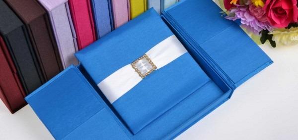 Thai Silk Invitation Box