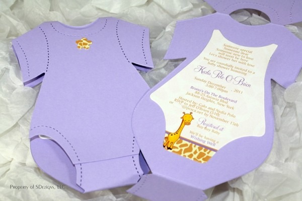 Imágenes De Making Baby Shower Invitations At Home